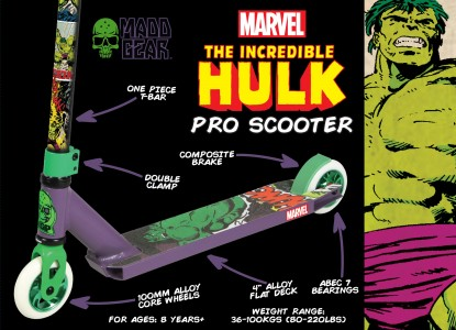 200-122-Marvel Hulk Pro Scooter Packaging