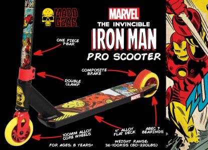 200-124-Marvel Iron Man Pro Scooter Packaging
