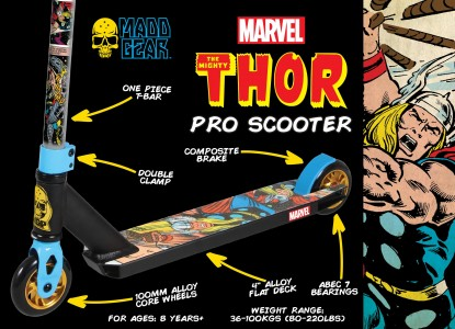 200-128-Marvel Thor Pro Scooter Packaging